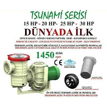 Nozbart  Tsunami Serisi 15 HP Trifaze Havuz Pompasý
