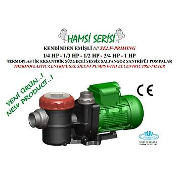 Nozbart Hamsi Serisi 1 HP  Monofaze Havuz Motoru
