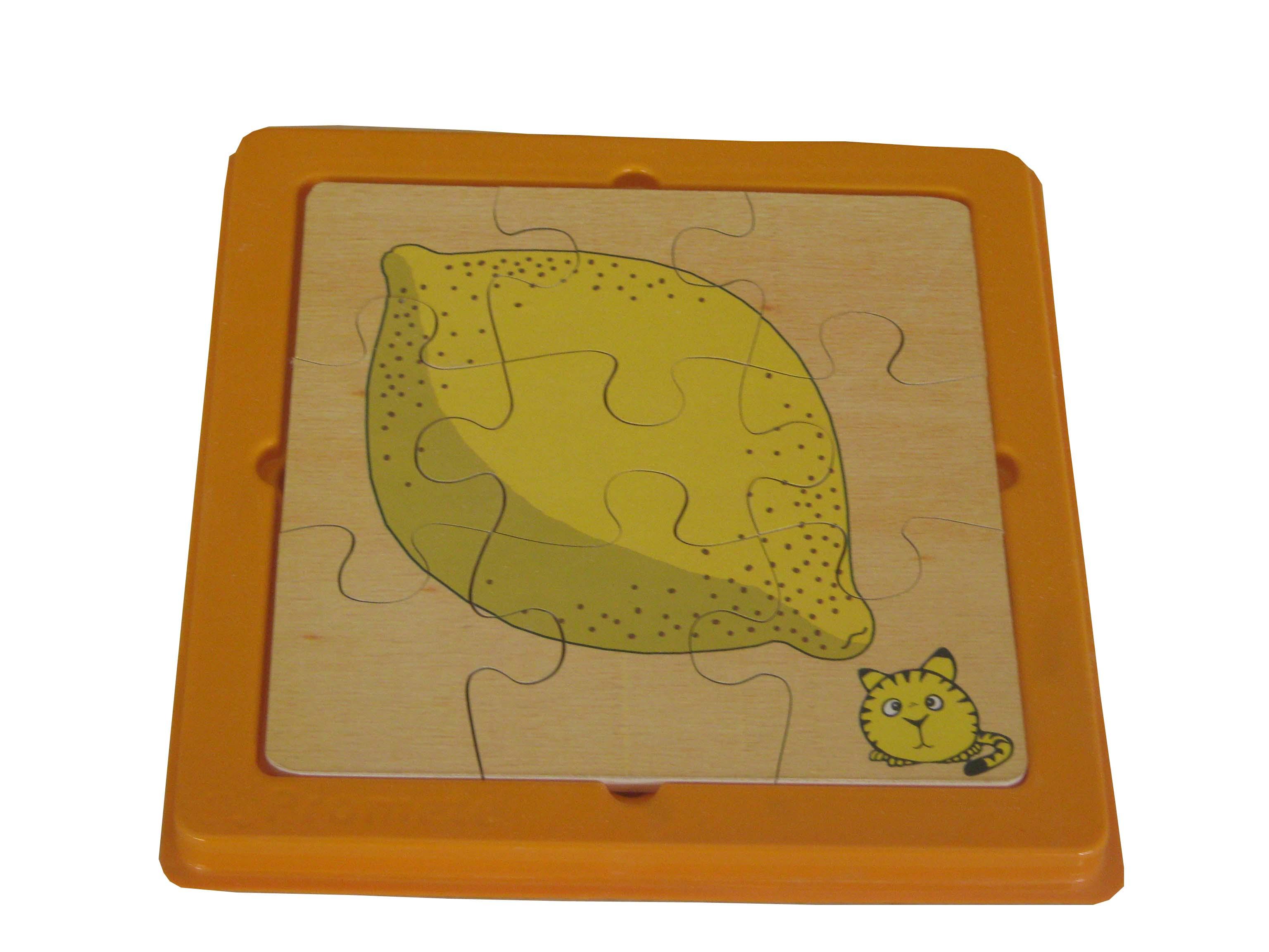 2 Katlı Puzzle Limon Promete Okul öncesi Eğitim Araçları