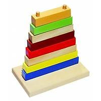 Renkli Piramit Dizme