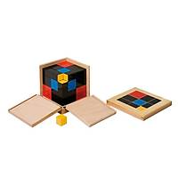 3 Ölçülü Küp (Arithmetic Trinomial Cube) - Sarý