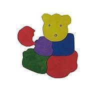 Parça Boyalý Puzzle' lar (Ayýcýk)