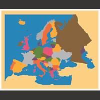 Coðrafi Materyaller - Avrupa Haritasý