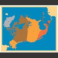 Coðrafi Materyaller - Kuzey Amerika Haritasý