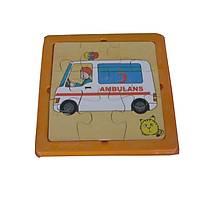 2 Katlý Puzzle ( Ambulans )