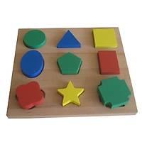 Renkli Geometrik Şekiller