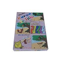 Masallar Puzzle Karga ile Tilki