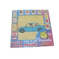2 Katlý Puzzle ( Araba )