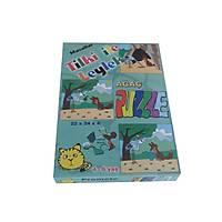 Masallar Puzzle Tilki ile Leylek