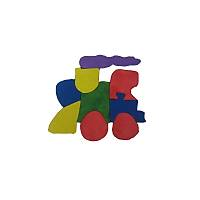Parça Boyalý Puzzle' lar (Tren)