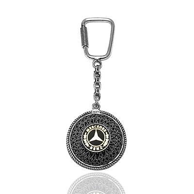 Mercedes Gümüþ Anahtarlýk - Telkari anahtarlýk (kod 2020866)