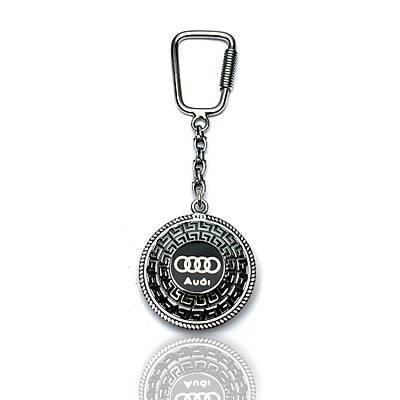 Audi Amblemli 925 Ayar Gümüþ Anahtarlýk (STOK:20201041)