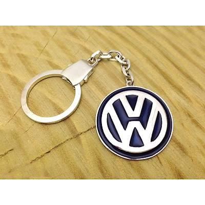 Volkswagen Amblemli Özel Tasarým Gümüþ Anahtarlýk (STOK KODU: 20130634)