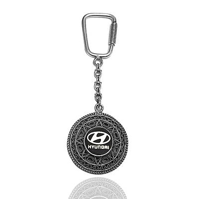 Hyundai Gümüþ Anahtarlýk - Telkari anahtarlýk (kod 2020864)