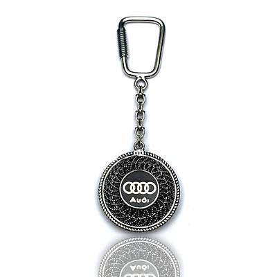 Audi Mblemli 925 Ayar Gümüþ Anahtarlýk (STOK:20201054)
