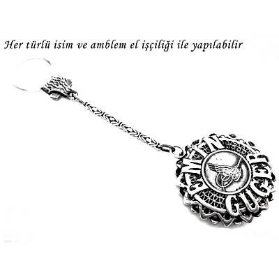 Kiþiye Özel Ýsimli Gümüþ Anahtarlýk (STOK KODU: 20130682)