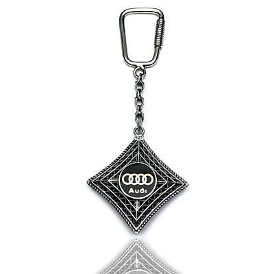 Audi Amblemli 925 Ayar Gümüþ Anahtarlýk (STOK:20201042)