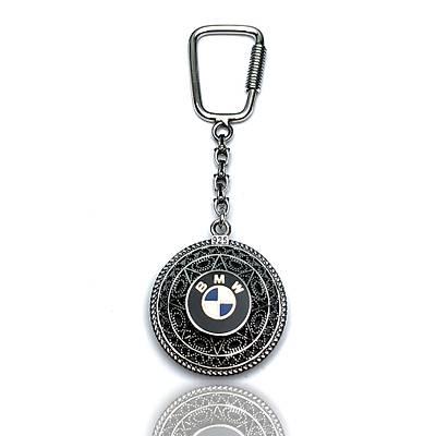 BMW Amblemli 925 Ayar Gümüþ Anahtarlýk (STOK:20201044)
