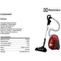 Electrolux EUS8ANIMAT Ultra Silencer Zen ABAA 58db Sessiz Toz Torbalı Elektrikli Süpürge
