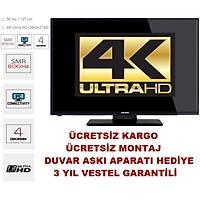 """Telefunken 50TU5020 50"""" 127 Ekran Uydu Alıcılı 4K Ultra HD TV"""