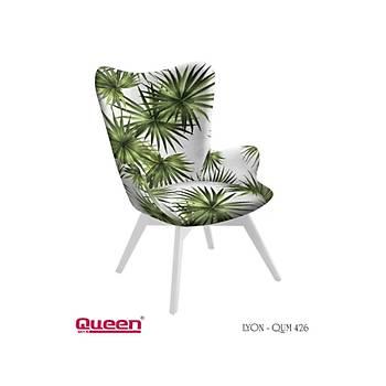 Queen LYON QUM-426 Berjer + Fiskos Set