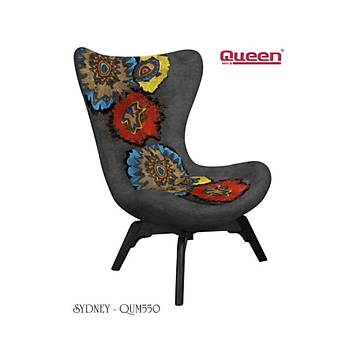 Queen SYDNEY QUM-550 Berjer + Fiskos Set