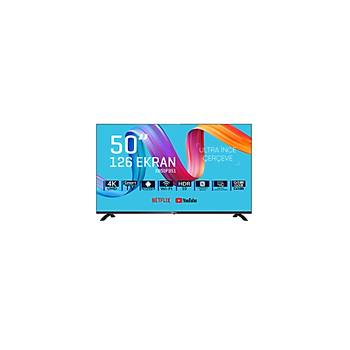 Saba SB50F351 50'' Frameless Ultra Hd Android Smart Led