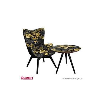 Queen LYON QUM-439 Berjer + Fiskos Set