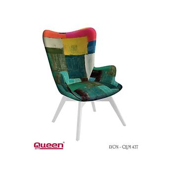 Queen LYON QUM-427 Berjer + Fiskos Set