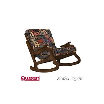 Queen SMYRNA QUM-712 Berjer + Fiskos Set