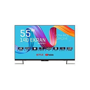 Saba SB55F351 55' FRAMELESS ULTRA HD ANDROÝD SMART LED