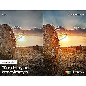 Samsung 58Q60T 58'' 147 Ekran Uydu Alýcýlý 4K Ultra HD Smart QLED TV