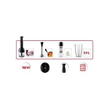 Philips Viva Collection HR1335/00 700 W El Blenderi Çift Mikser ve Ölçekli Sürahi ile