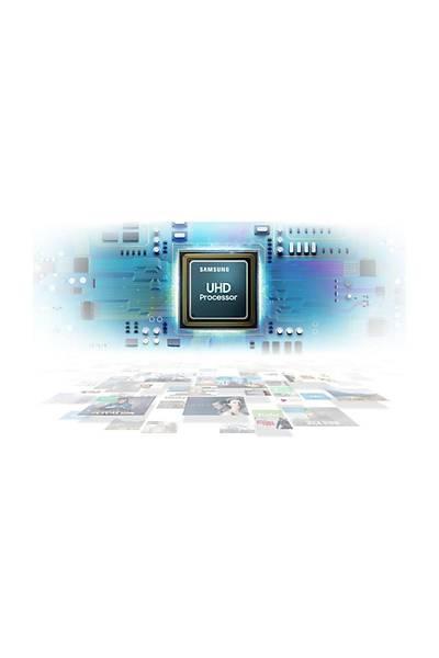 """Samsung UE-49RU7100 4K Ultra HD 49"""" Uydu Alýcýlý Smart LED Televizyon"""