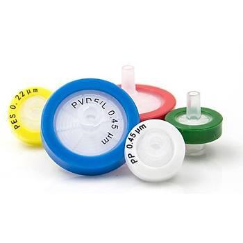 25mm HPLC Syringe Filter, PVDF, pore size 0.22µm  100 Ad/Pk