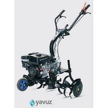 Yavuz Benzin Motorlu 6.5 hp 1+1 Çapa Makinasý Ýpli