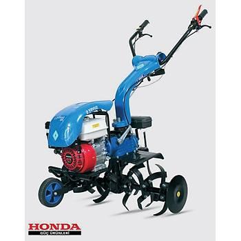 Honda Benzin Motorlu 6.5 hp 2+1 Çapa Makinasý Ýpli
