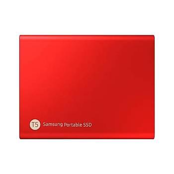 SAMSUNG T5 500GB SSD TAÞINABÝLÝR HDD MU-PA500R/WW KIRMIZI 3YIL GARANTÝLÝ