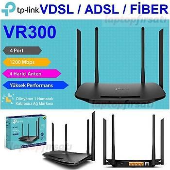 TP-Link Archer VR300 AC1200Mbps Wi-Fi VDSL/ADSL+FÝBER Modem