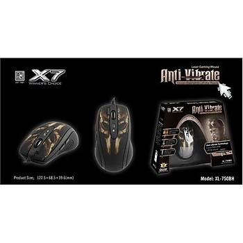 A4 TECH X7 GAMING XL-750BH LASER KABLOLU OYUNCU MOUSE 3600DPİ