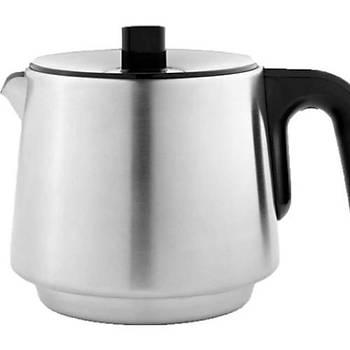 Homend 1711 Royaltea 2000W Çelik Çay Makinesi, Siyah