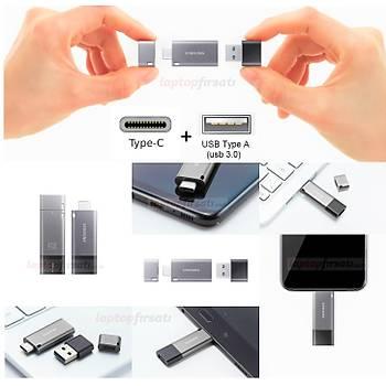 SAMSUNG Yüksek Hızlı 256 GB USB3.1+TYPEC+A OTG DUO+ MUF-256DB/APC