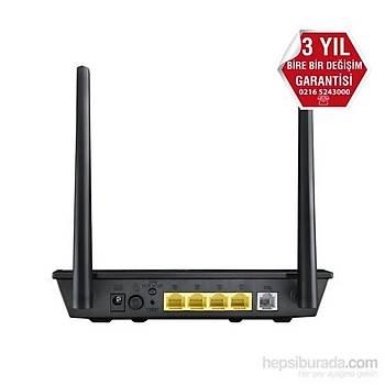 Asus DSL-N16 300Mbps VPN VDSL_ADSL_Fiber_Kablo Modem+Router