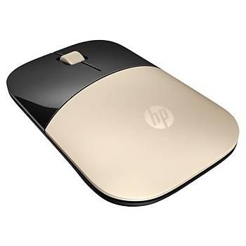 HP Z3700 Kablosuz Altýn Sarýsý Mouse X7Q43AA