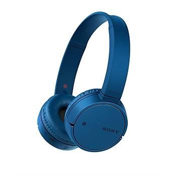 ????Sony WH-CH500L Bluetooth WI-FI Kulaküstü Kulaklýk Mavi WHCH500L