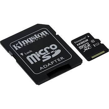 Kingston 128GB MicroSDHC Class10 UHS-I 45MB/s SDC10G2/128GB