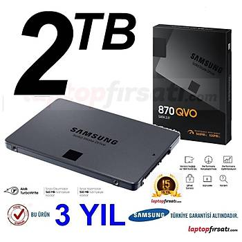 Samsung QVO 870 2TB 560MB-530MB/s Sata 3 2.5