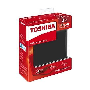 ÖZEL SERÝ Toshiba Canvio Connect II 2TB 2.5