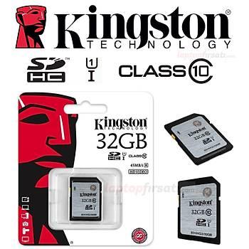 Kingston 32GB Class10 UHS-I SDHC Hafıza Kartı 45MB/s SD10VG2/32GB