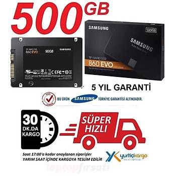 Samsung 860 EVO 500GB 550MB-520MB/s Sata3 2.5'' SSD MZ-76E500BW